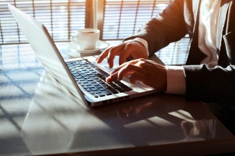 Kelowna mortgage broker - John Antle - laptop