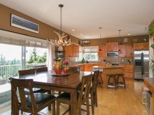 Feature Listing: 1011 Aurora Heights Dining area & Kitchen
