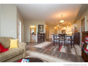 John Antle Mortgages Kelowna Feature Realtor: Jesse East feature listing 2 bdrm condo (living room)