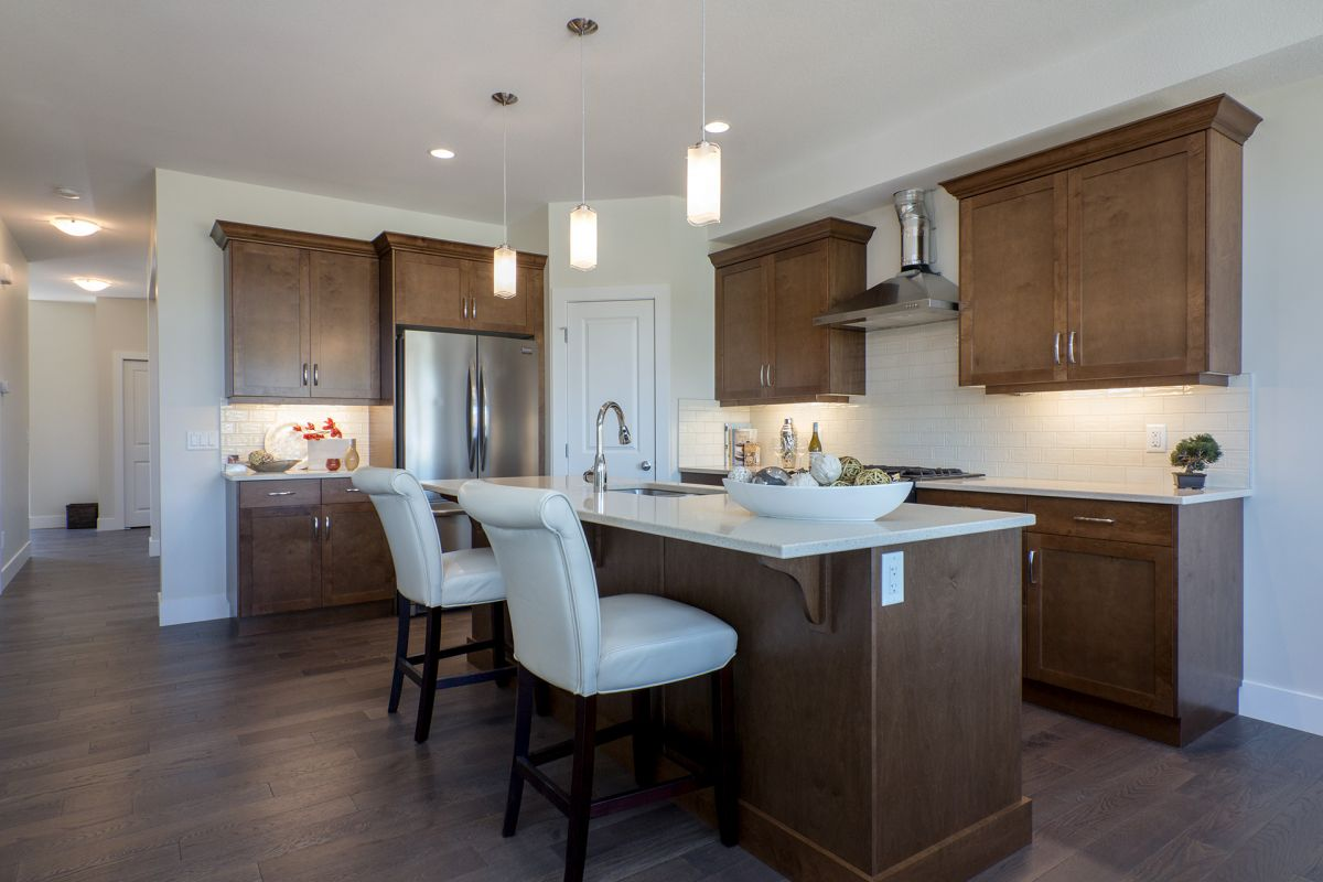 John Antle | Kelowna Mortgage Broker | Feature: QVA Homes Cypress Point Townhomes kitchen