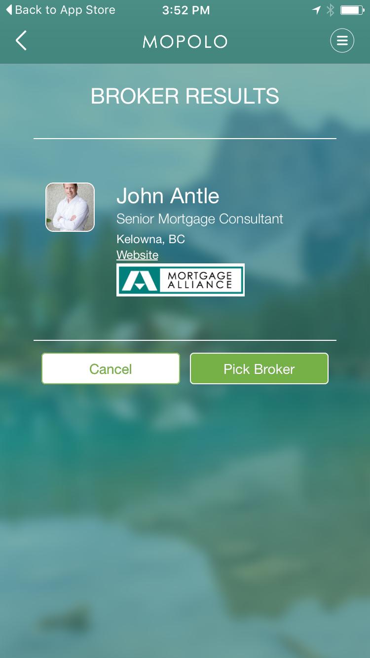 John Antle | Kelowna Mortgage Broker | MOPOLO app broker results